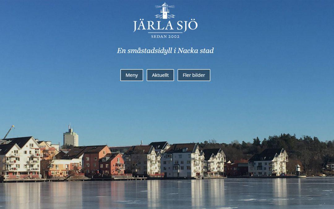 Välkommen till Järla Sjös nya hemsida!