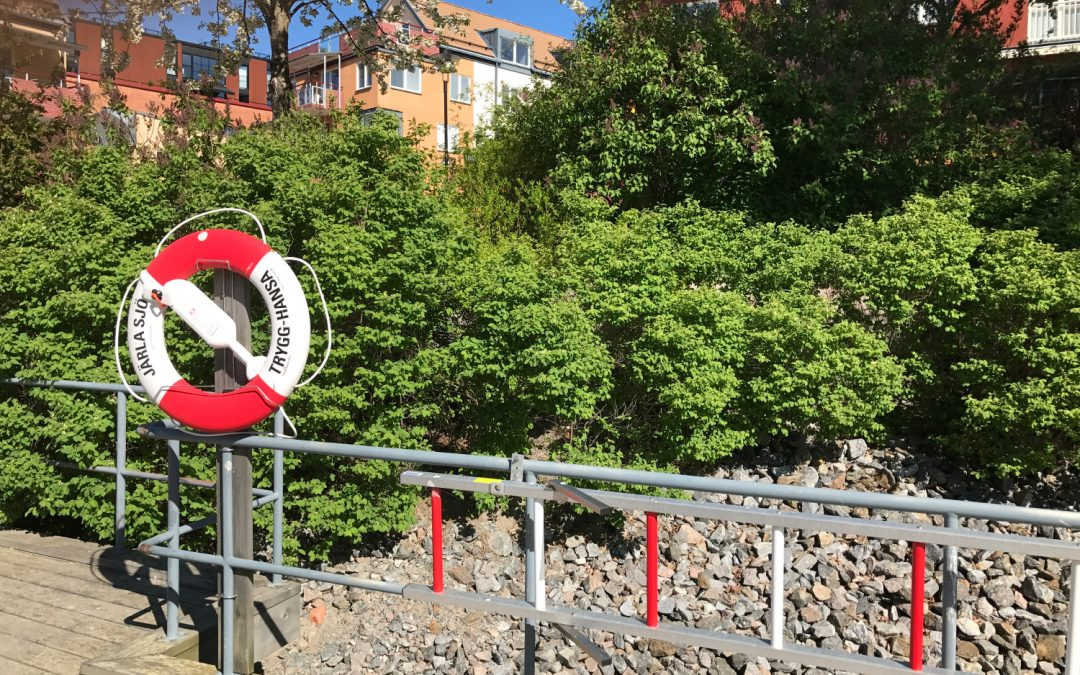 Utrustning för livräddning i vatten – Järla Sjö