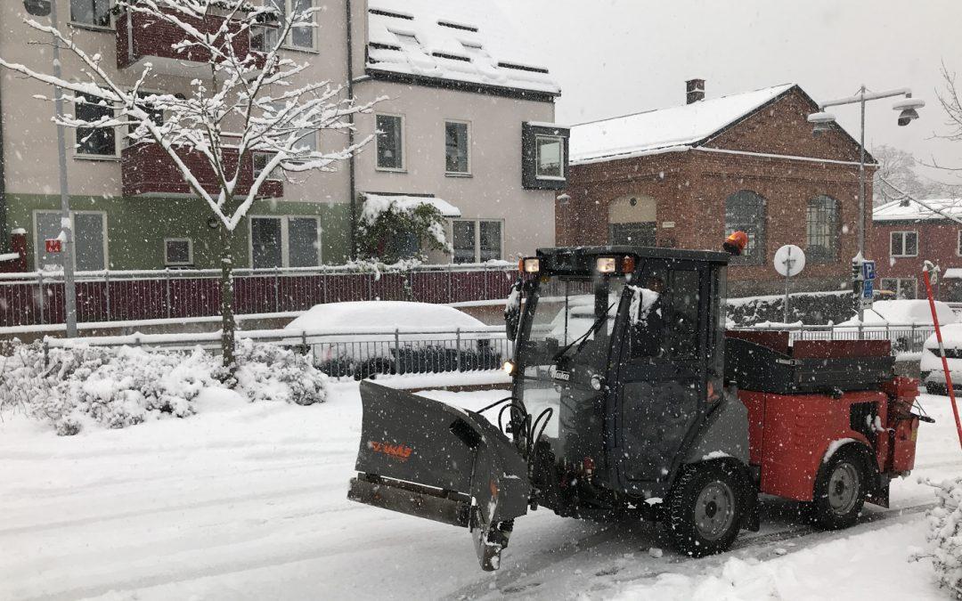 Riktlinjer för snöröjningen i Järla sjö