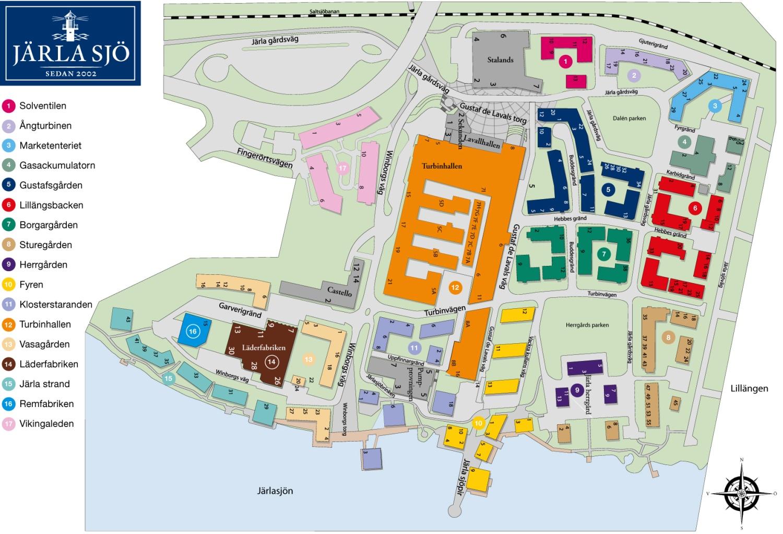 järla sjö karta Lediga objekt   Bostäder i Järla sjö till försäljning via hemnet järla sjö karta