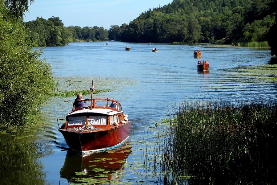 """Information från Slussföreningen och """"Nätverket Rädda Järla sjön"""""""