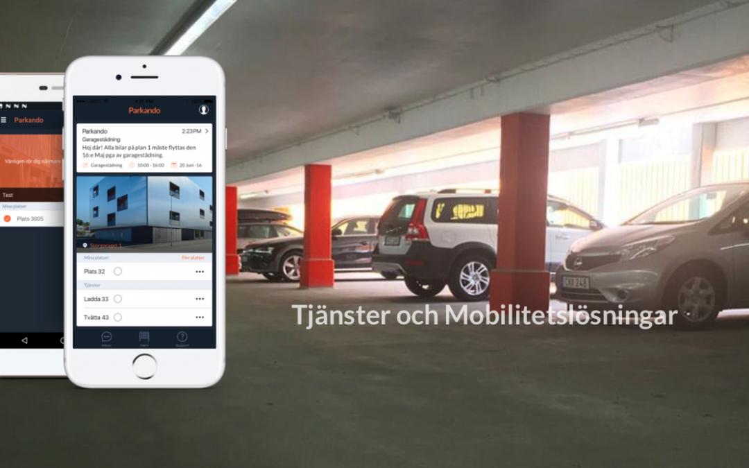 Ny leverantör och förändringar av administrationen, rutiner och access-system till våra garage och förråd