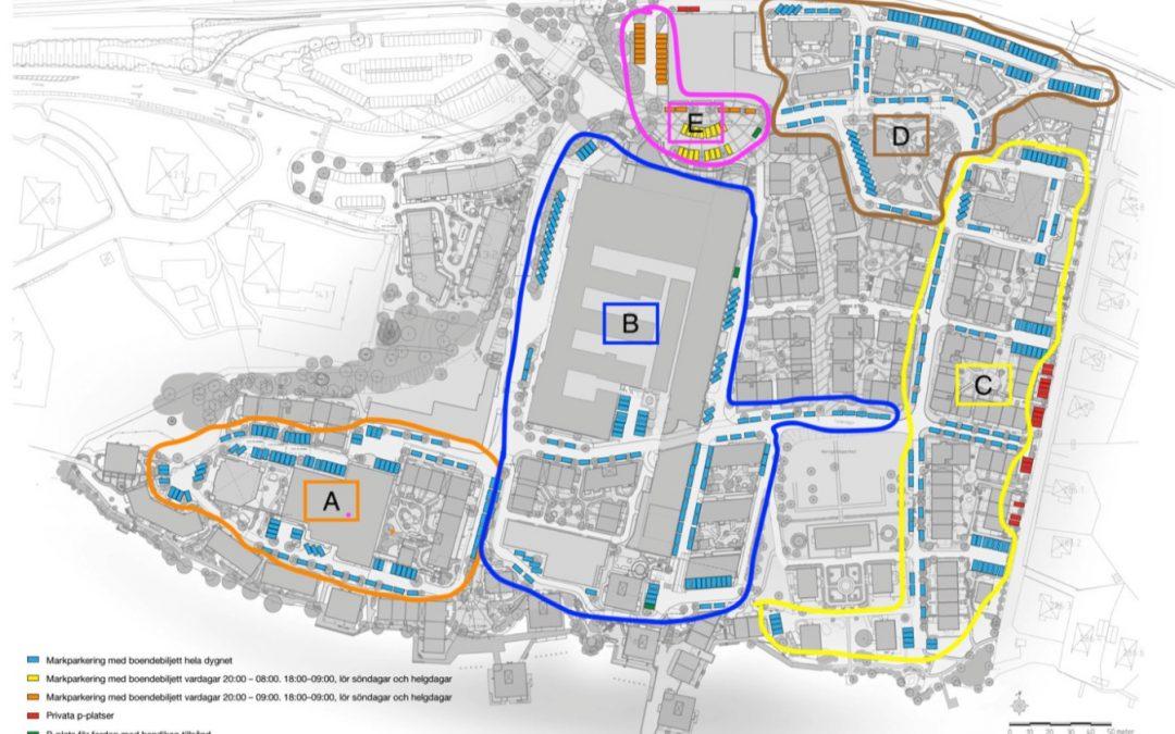Målning av parkeringslinjer 24 och 25 juni!